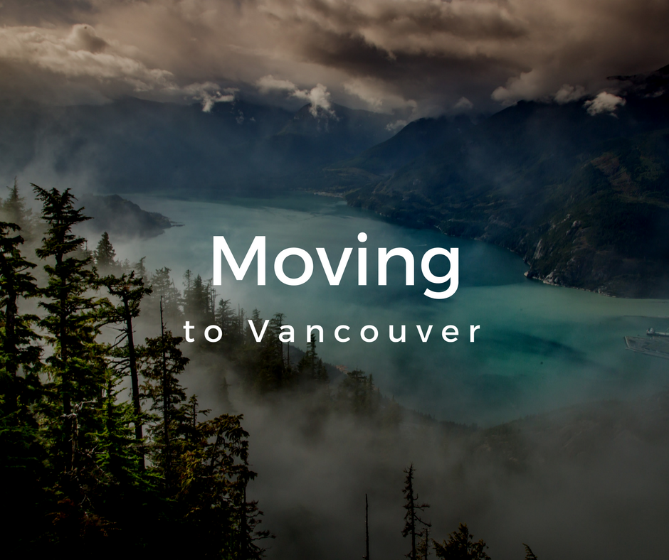 Moving to Vancouver in 2019