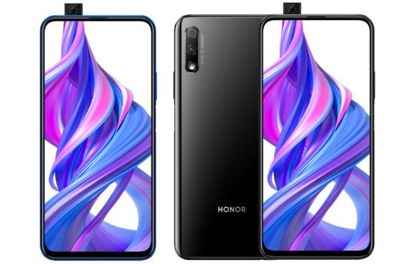 Honor 9X mit ausgefahrener Selfie-Kamera