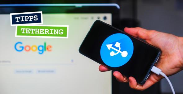 Um das mobile Internet deines Smartphones mit dem Laptop zu nutzen, musst du sie miteinander verbinden und die Tethering-Funktion aktivieren.