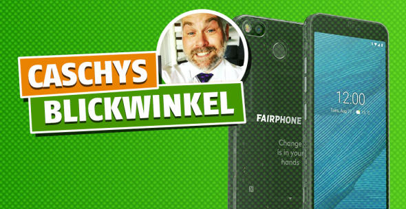 Caschy berichtet vom Fairphone 3
