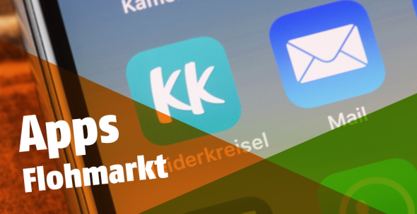 Das Icon der Flohmarkt-App Kleiderkreisel.