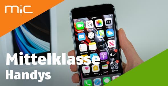 Das iPhone SE 2 als bestes Mittelklasse-Handy.