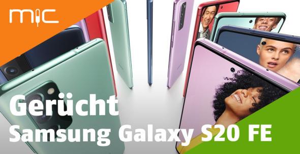 Das Samsung Galaxy S20 FE kommt in verschiedenen Farben.