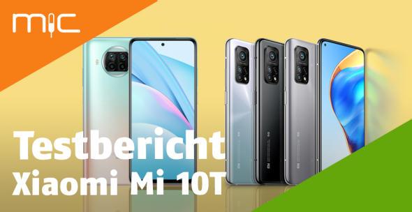 Das Xiaomi Mi 10T lite und Pro stellen sich vor.