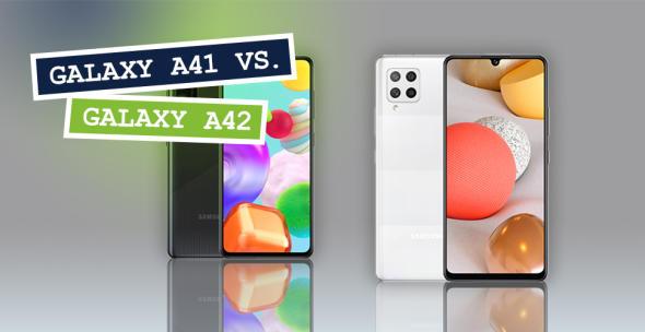 Samsung Galaxy A41 und Samsung Galaxy A42