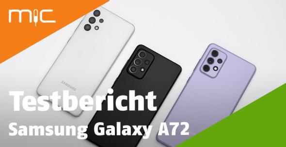 Drei Modelle des Samsung Galaxy A72
