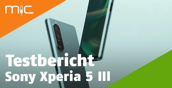 Sony Xperia 5 III von hinten und vorne