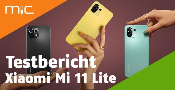 Das Xiaomi Mi 11 (Lite) in drei Farben