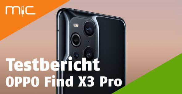 Das OPPO Find X3 Pro von hinten