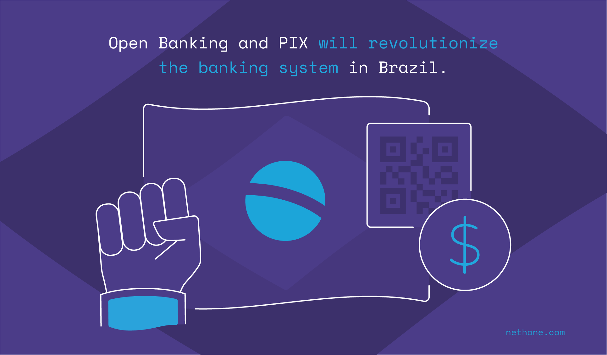 Open Banking and PIX will revolutionize the banking system in Brazil.