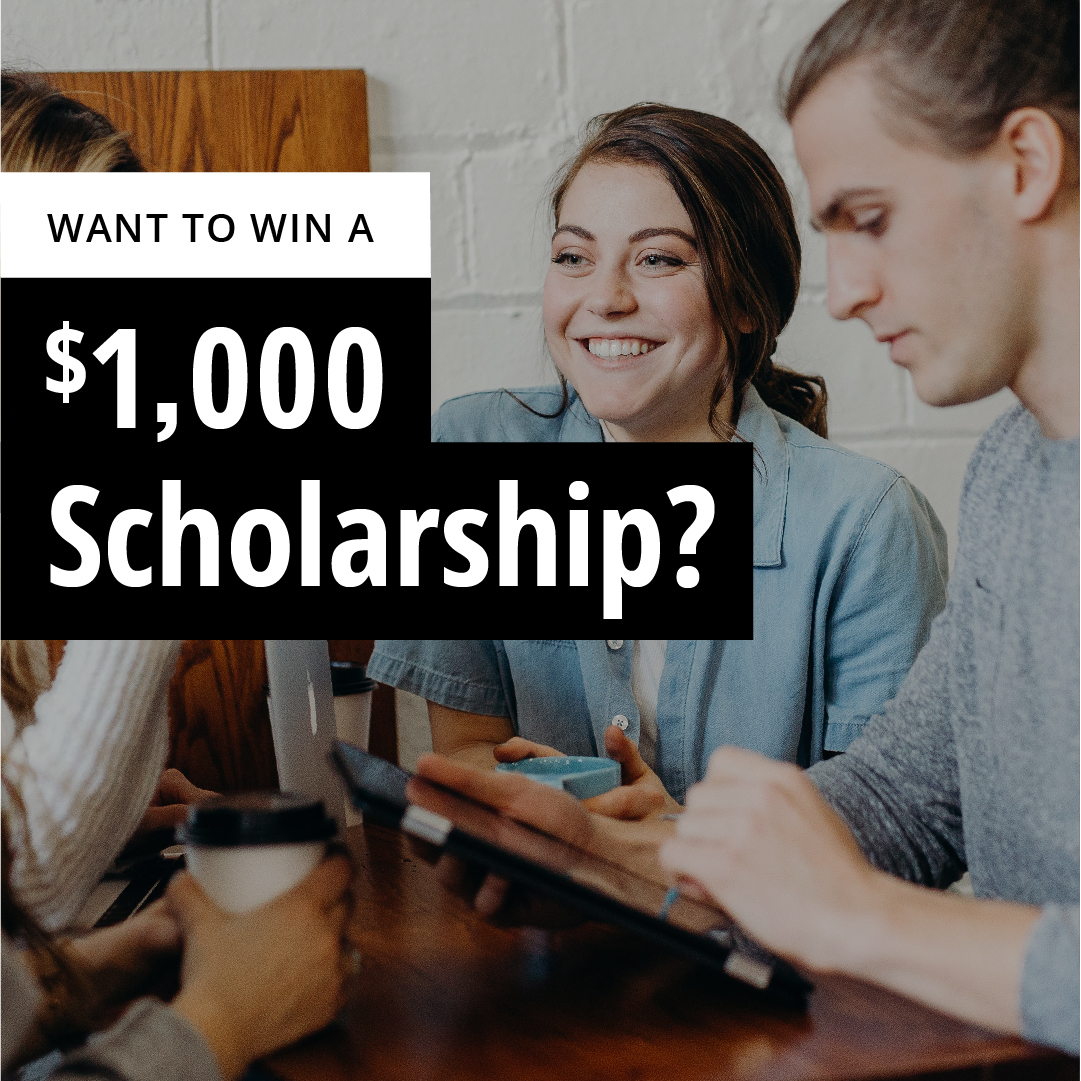 One student from either Wilfrid Laurier University, the University of Waterloo or Conestoga College will be the recipient of the $1,000 scholarship.