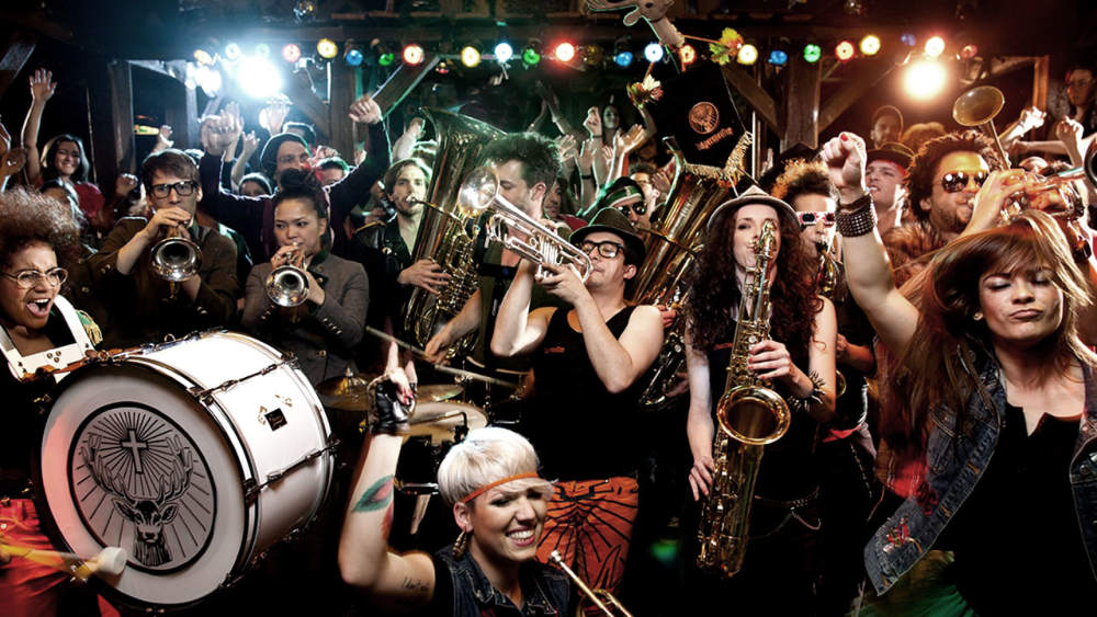 Jägermeister Blaskapelle: Our Brass Band that puts some oomph into