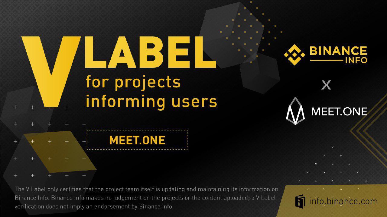 MEET.ONE has Officially Joined Binance Info's Transparency Initiative