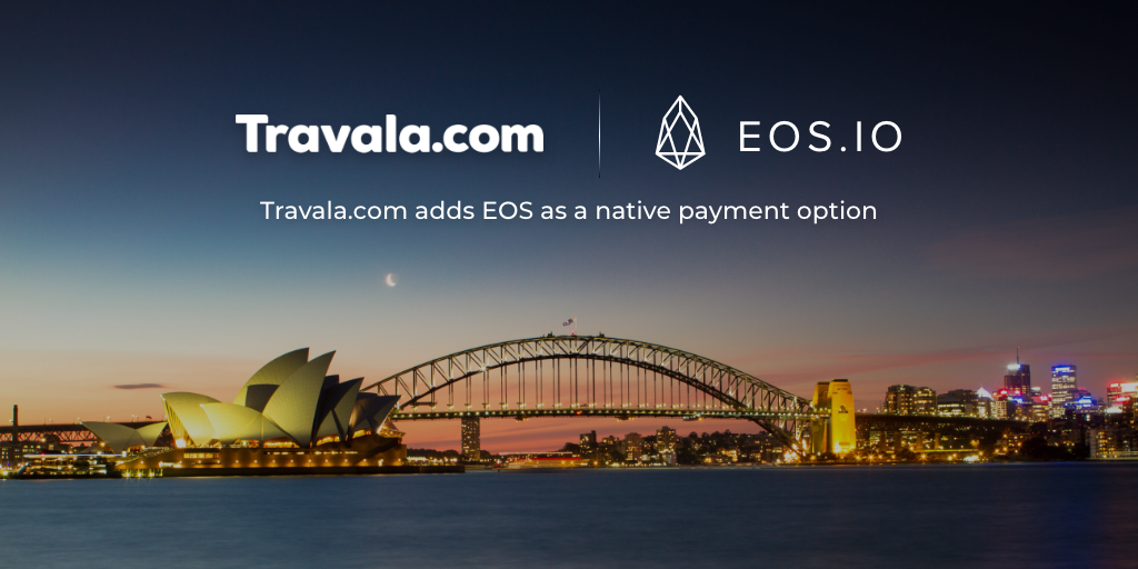 Book over 1.6M Hotels with EOS on Travala
