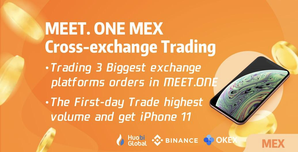 "MEET.ONE Wallet Launches ""MEX"", Secure, Cross-exchange, High Liquidity"