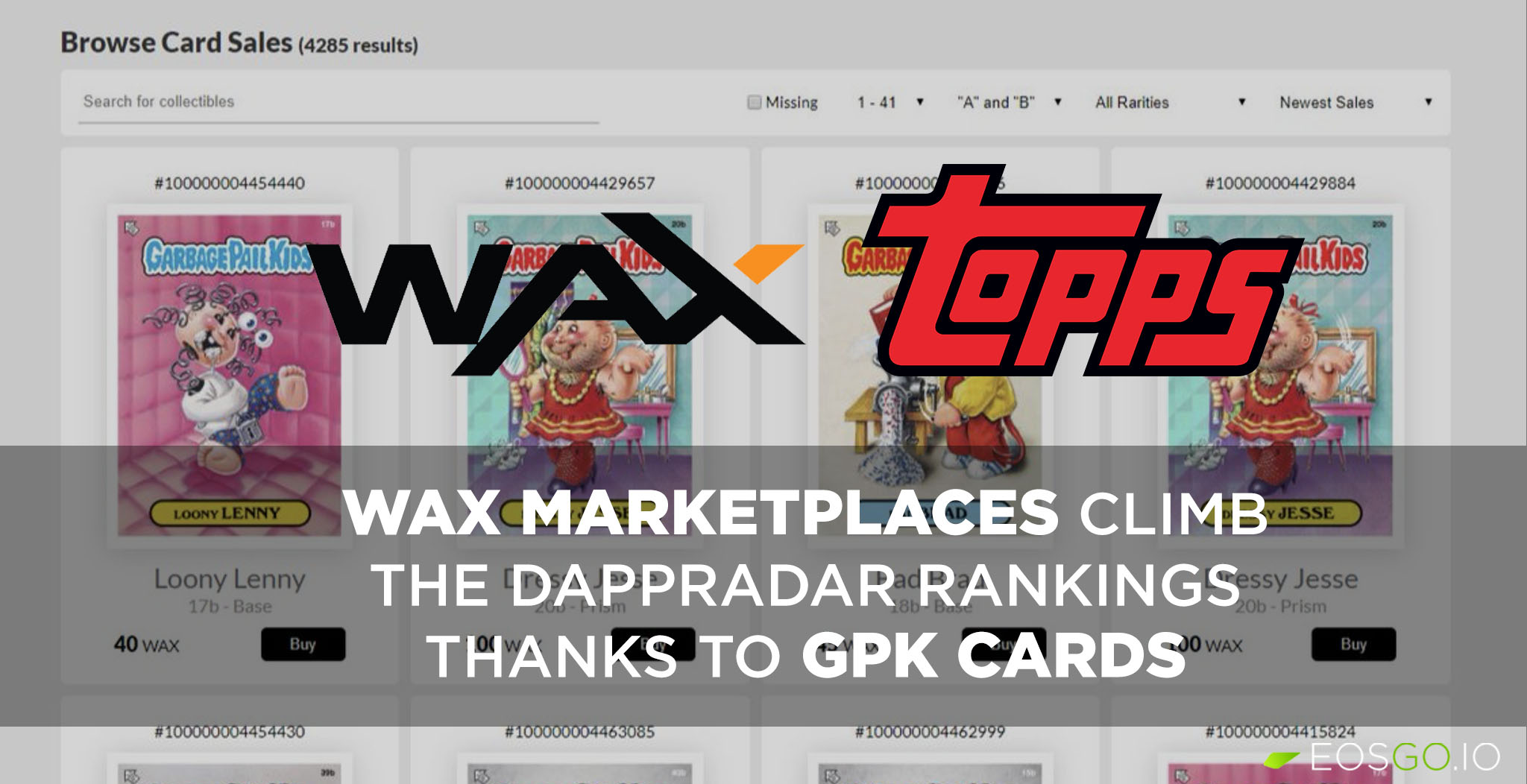 wax-marketplaces-clib-dapp-radar-rankings