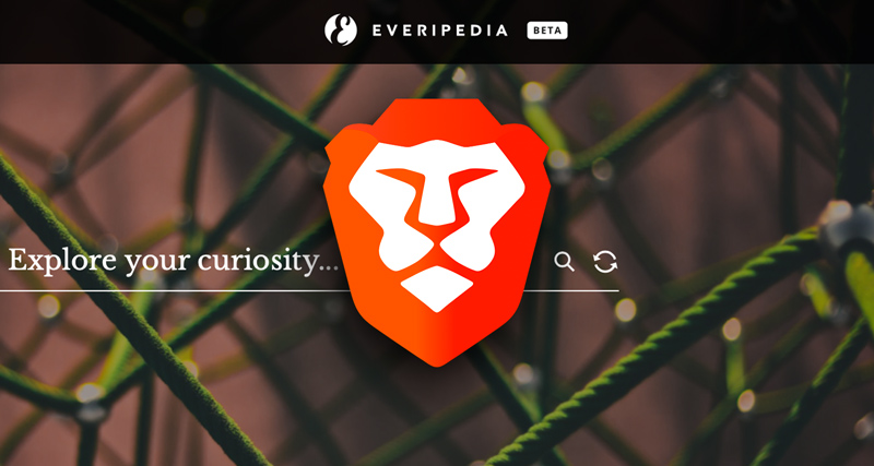 brave everipedia partnership feature