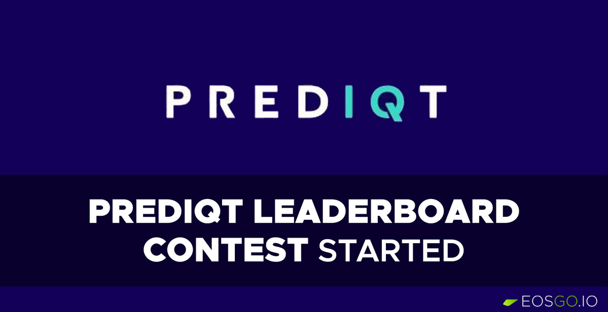 prediqt-learderboard-contest-started