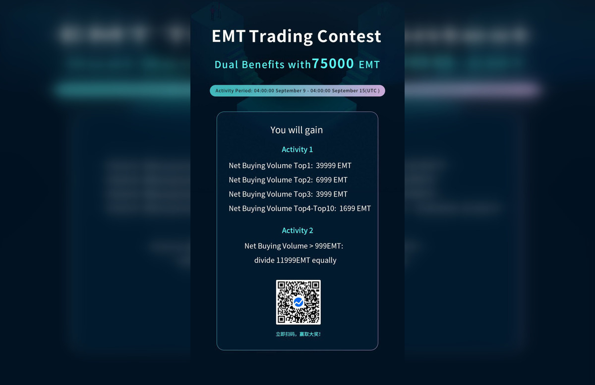 Emanate will launch its Alpha this week, along with a Trading Contest