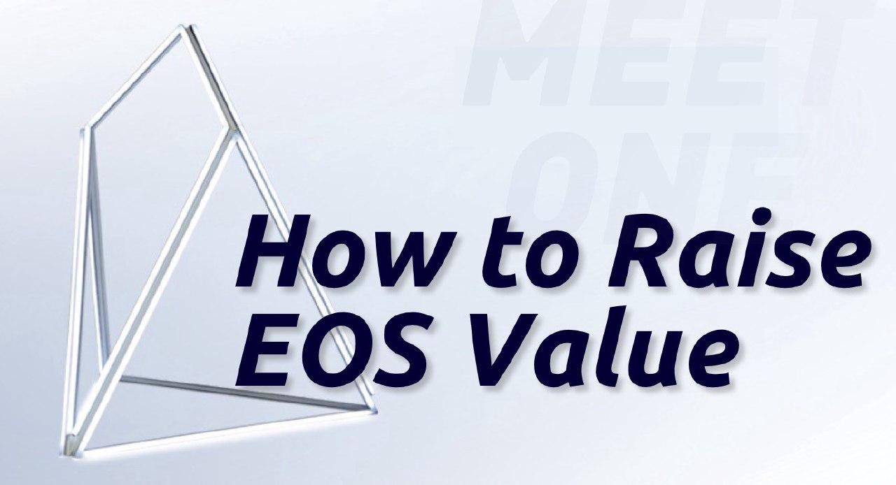 How to Raise EOS Value? Views from Susan, MEET.ONE