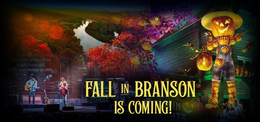 Branson Falls for Autumn's Beauty - 5 Great Ways to Enjoy It!