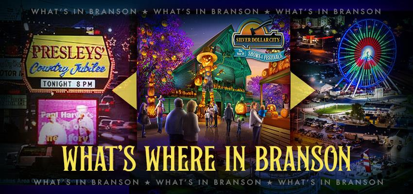 Branson, Missouri - Discover What's Where in the Live Entertainment Capital
