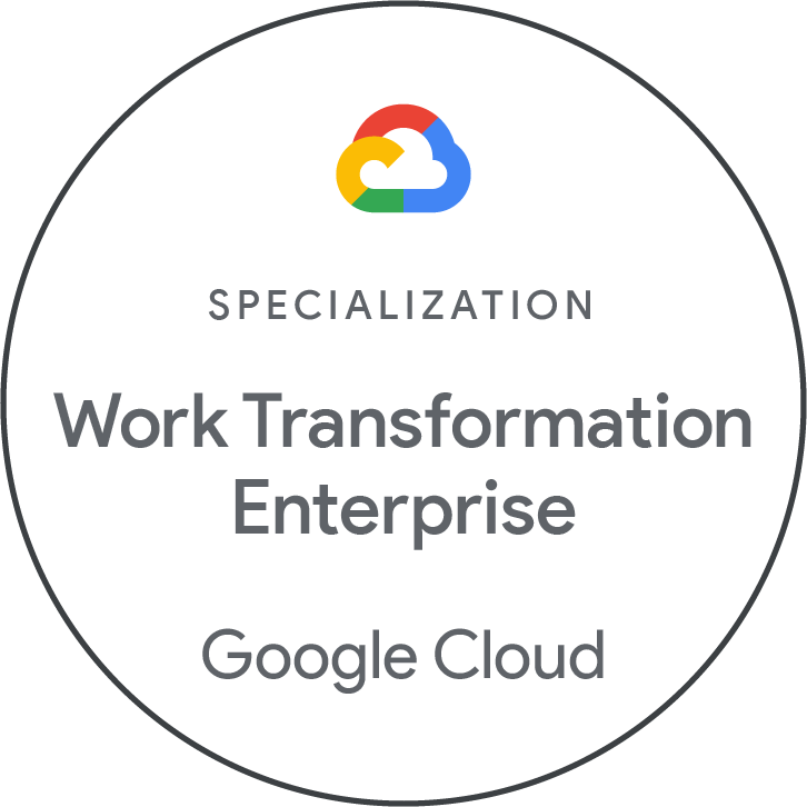 Incentro Africa achieves the Work Transformation - Enterprise Partner Specialization in the Google Cloud Partner Specialization Program!