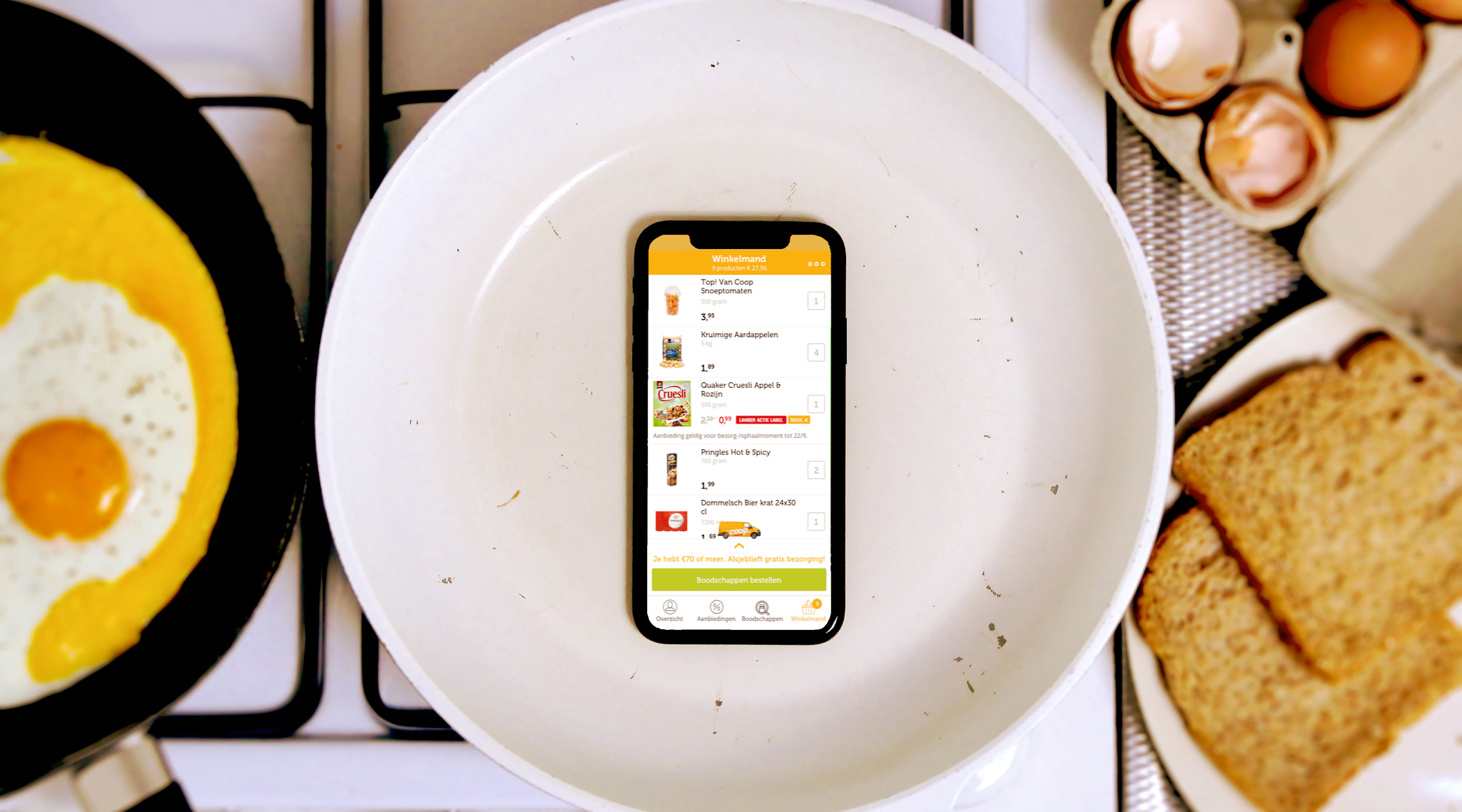Easter-egg-incentro-mobile-phone-kitchen-app-development