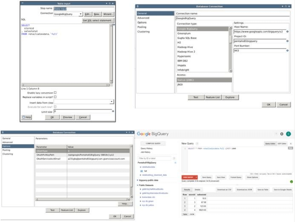 google-big-query-support-pentaho