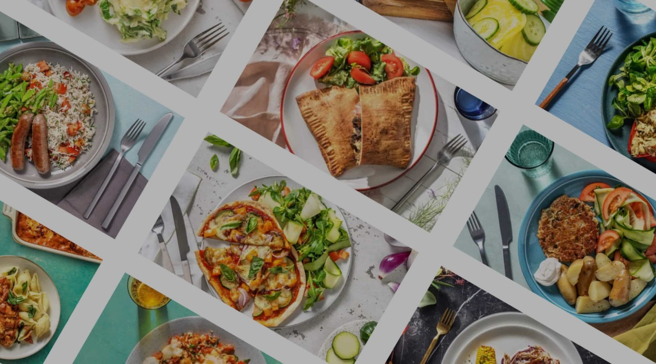 Hellofresh - header - food
