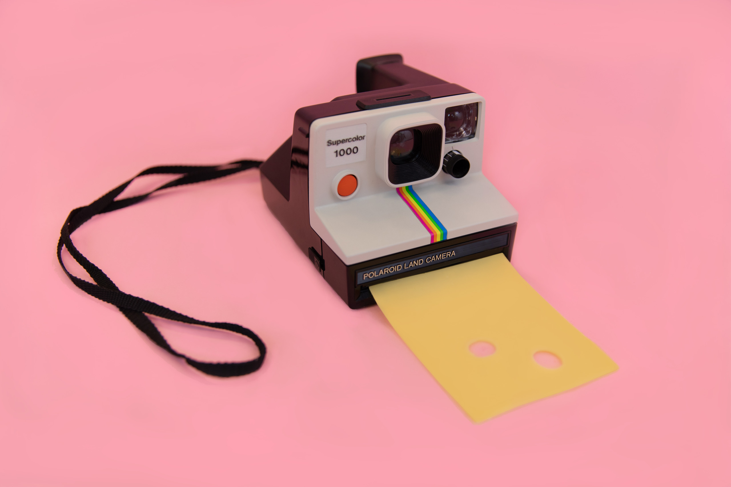 Data-driven marketing-kaas-uit-polaroid-camera