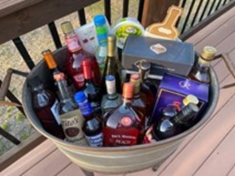 Assortment of Wine and Spirits