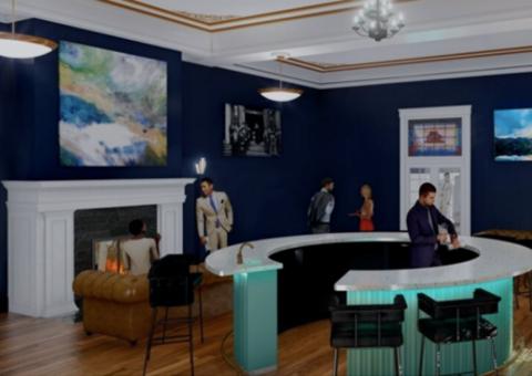Interior view of the Beacon venue