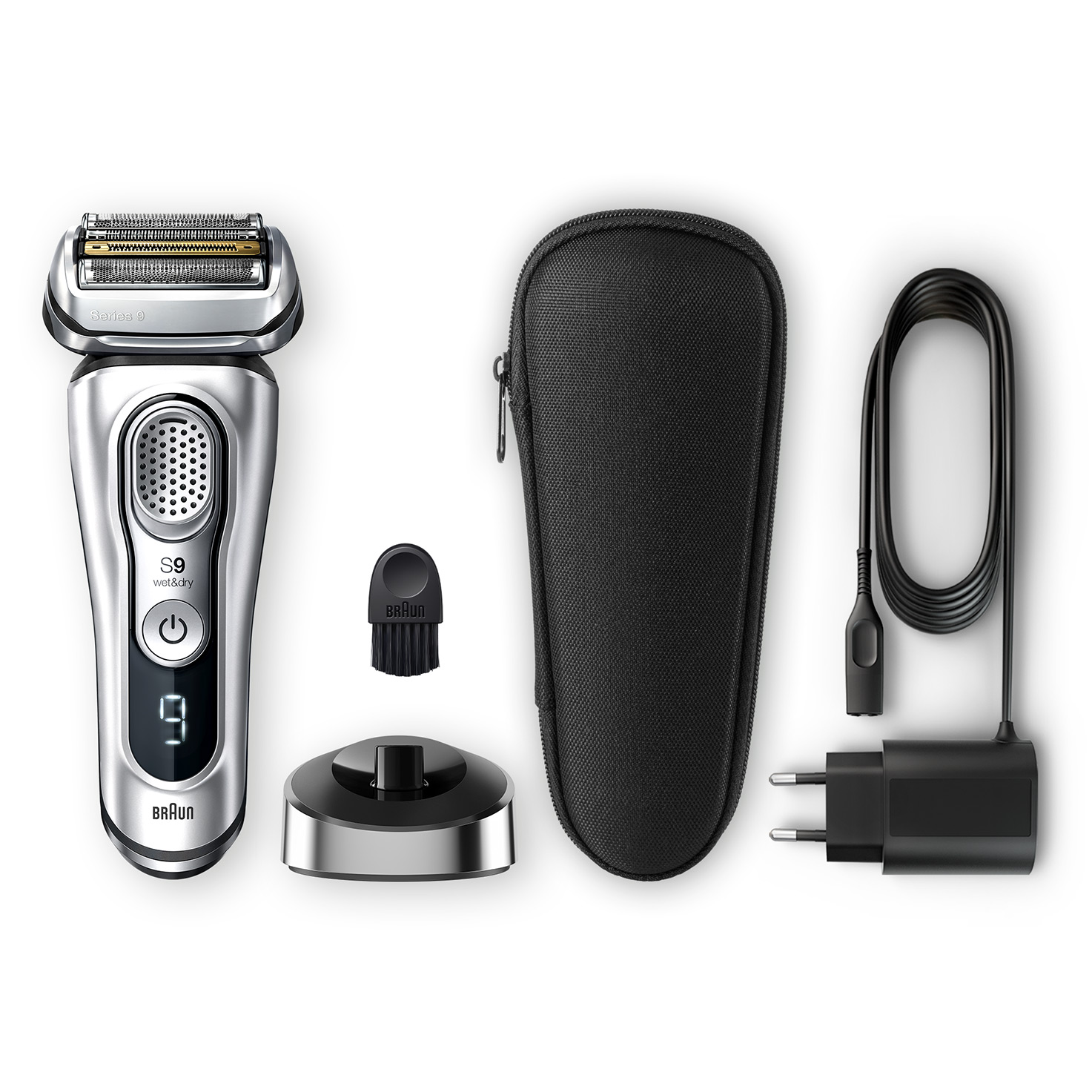 Series 9 9330s shaver - What´s in the box