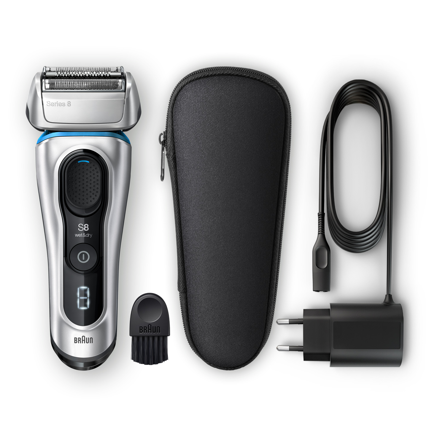 Series 8 8330s shaver - What´s in the box
