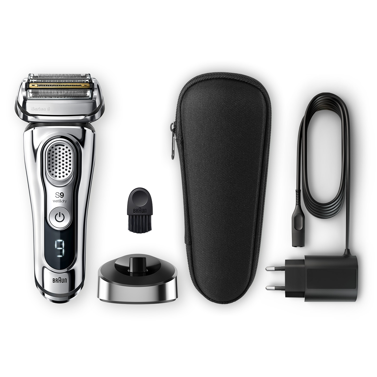 Series 9 9355s shaver - What´s in the box