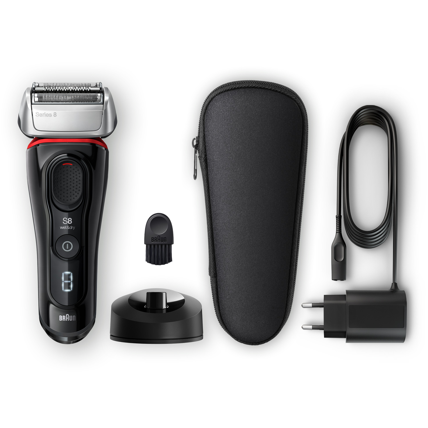 Series 8 8340s shaver - What´s in the box