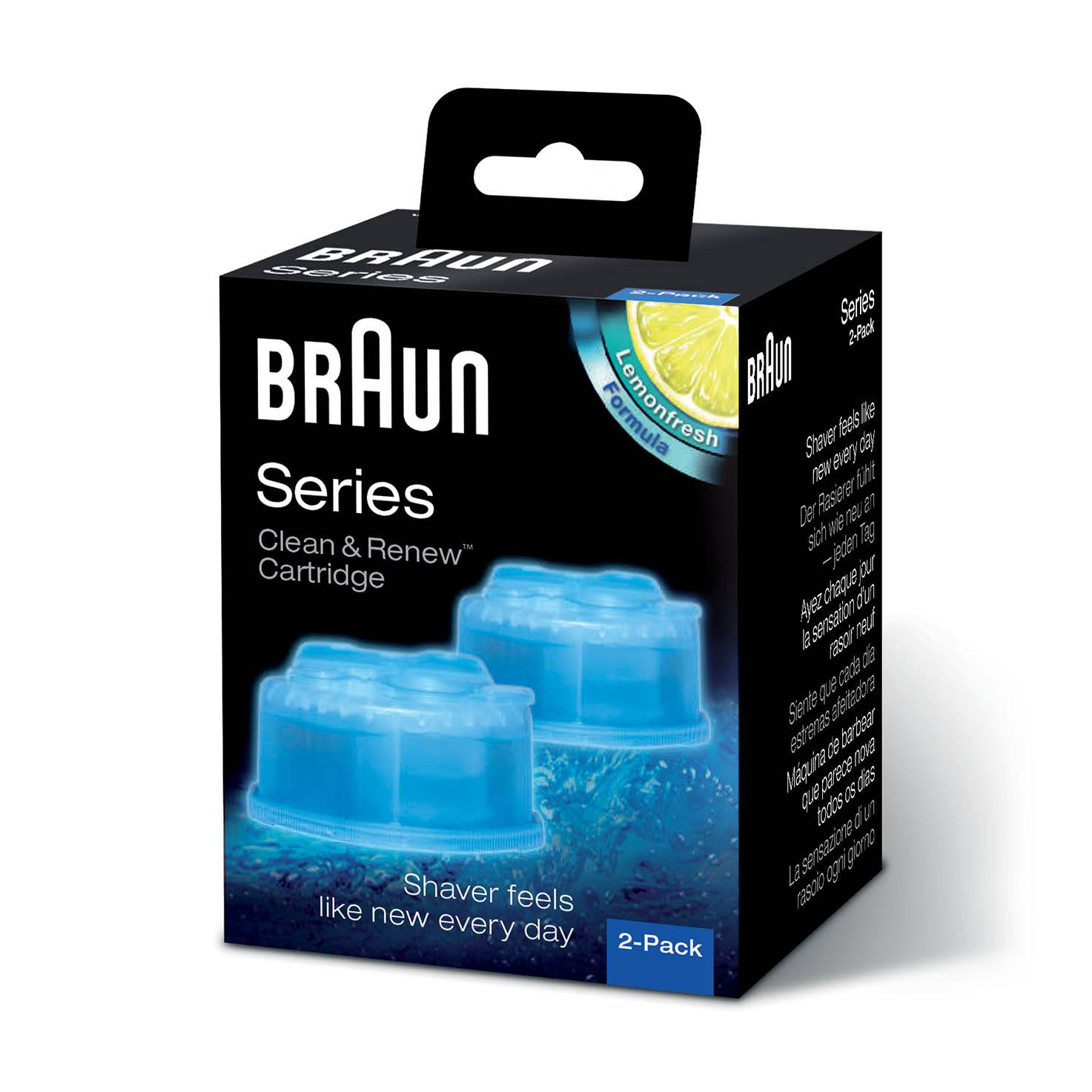 Braun Clean and Charge Refills 2 Pack