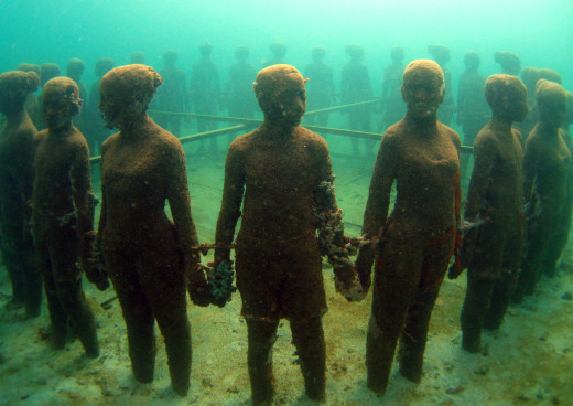 Underwater Sculpture Park, Morne Rouge Bay, Saint George