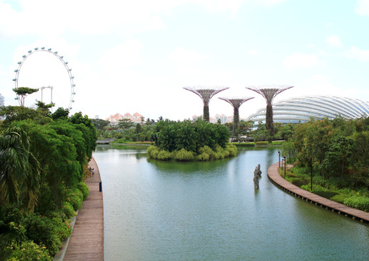 Garden by the Bay, Singapur