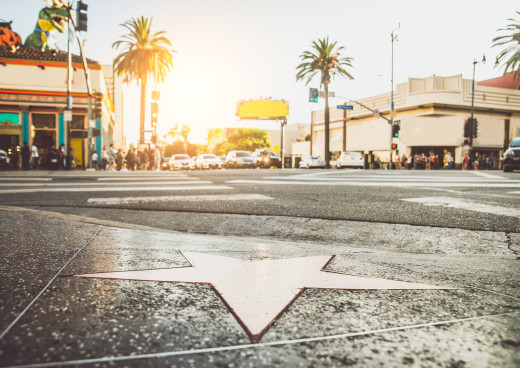 Walk Of Fame, Los Angeles, Kalifornien