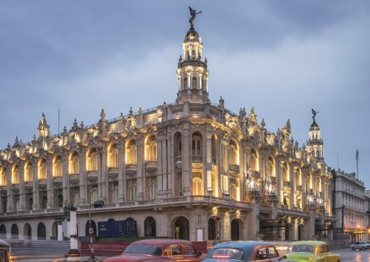 Nationaltheater, Havanna, La Habana