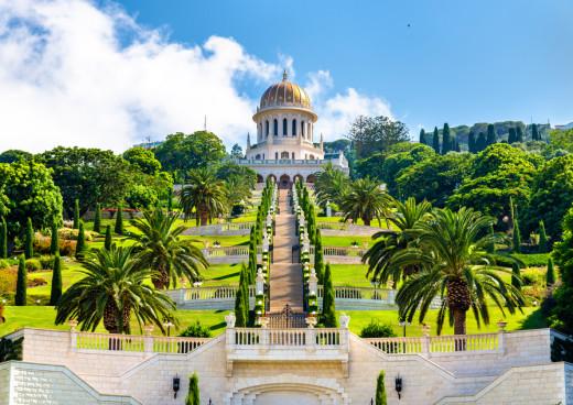 Die Hängenden Gärten Der Bahai In Haifa Holidaycheck