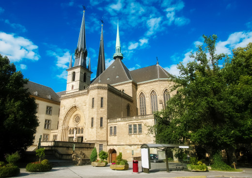 Kathedrale Notre Dame, Luxemburg