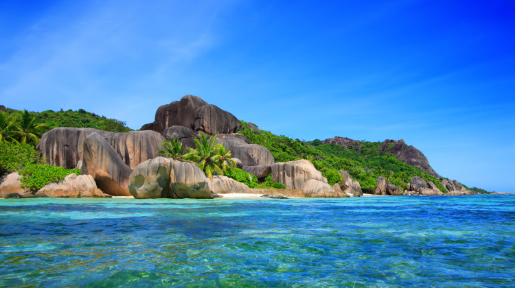 Source d'Argent Beach, La Digue