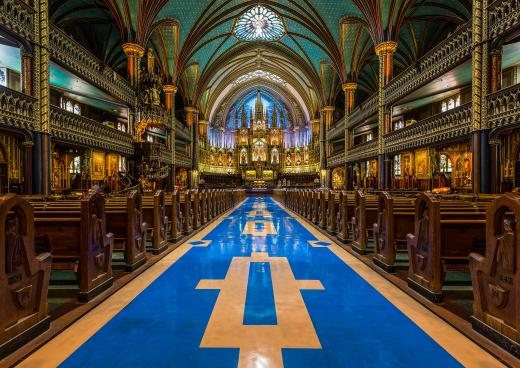 Kathedrale Notre-Dame, Montreal