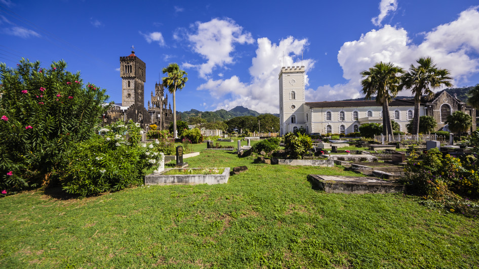 St Mary's Kathedrale, Kingstown