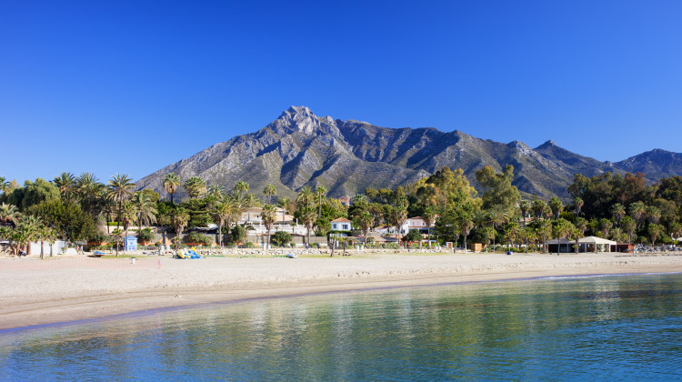 Sandy Beach, Marbella, Costa del Sol