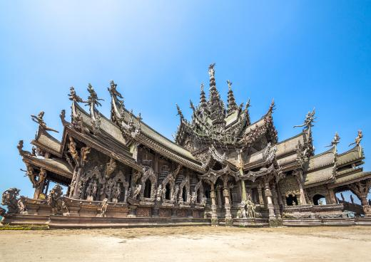 Sanctuary of Truth, Pattaya, Ostküste Thailand