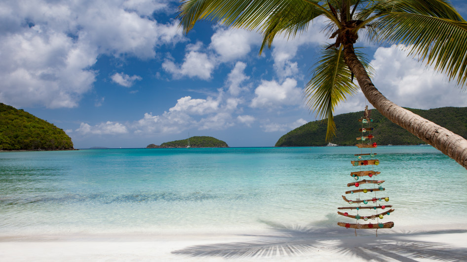 Christmas Beach, Maho St. John, U.S. Virgin Islands, Karibik